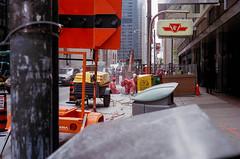 Construct (hanChals) Tags: road toronto canon construction downtown ttc 17 40mm ql17