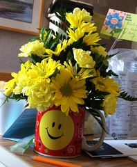 Get Well Flowers (kristindye) Tags: flowers ohio plants plant flower me cup smile june yellow hospital myself spring sisterinlaw brother vibrant surgery medical health smiley mug noedit normal bethesda kidney springflowers getwell 2012 nofilter getwellsoon hospitalroom kidneystone iphone iphone4 iphoneography bethesdanorth iphoneonly kidneystonesurgery