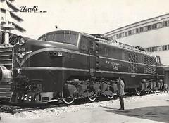 E-3203 en Miln, Italia (Juan'Tren_AES) Tags: chile del trenes breda ercole locomotora estado ferrocarriles electrica e32 marelli