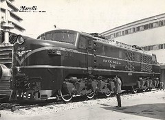 E-3203 en Milán, Italia (Juan'Tren_AES) Tags: chile del trenes breda ercole locomotora estado ferrocarriles electrica e32 marelli