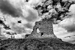 rock-of-dunamase (zip po) Tags: ireland blackandwhite castle monochrome norman viking gaelic