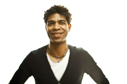 Carlos Acosta at the Day of the Flowers photocall