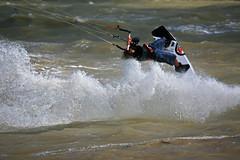 Kite Surfer - Lewis Crathern (EJ Bergin) Tags: sussex kitesurfing watersports kitesurfer goring lewiscrathern