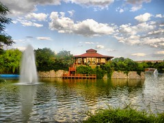 """chinese restaurant in Altnpark"" (NURAY YUZBASI) Tags: trip travel summer cloud pool turkey ankara chineserestaurant gezi havuz altnpark"