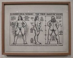 "R. Crumb's ideal woman : the ""true amazon"" (*Nolwenn*) Tags: paris comics underground mam robertcrumb crumb rcrumb musedartmodernedelavilledeparis"