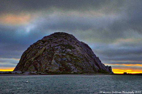Last Light at Morro Bay