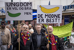 The young are allright, but the mature are best! (Tjook) Tags: gay people oslo norway rainbow glbt pride identity worldwide homosexual queer gender 2012 stolt colourfull kjnn dager skeive skeiv identitet paraden kjnnsidentitet kjnnsuttrykk kjnnsrolle