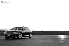 Chrysler C300 2012 (Az. Abdulrahman Alzahim) Tags: bw black sunrise canon photography az motors chrysler hdr 2012 photographe abdulrahman 60d anawesomeshot alzahim stunningphotogpin best4gpin