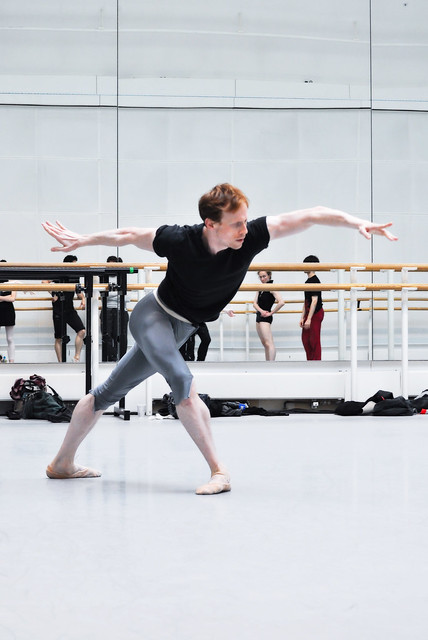 "Edward Watson in rehearsals for Metamorphosis: Titian 2012. <a href=""http://www.roh.org.uk"" rel=""nofollow"">www.roh.org.uk</a>"