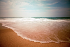 (Lastexit) Tags: ocean longexposure sea summer vacation sky motion beach water clouds nc movement sand waves northcarolina hatteras nd outerbanks capehatteras ndfilter neutraldensity