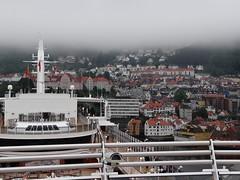 Cunard Queen Elizabeth: Bergen Norway (garybembridge) Tags: norway elizabeth queen bergen cunard
