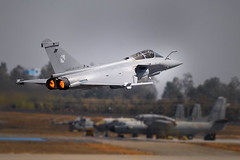 Coming soon.... (Shashanka Nanda) Tags: india bangalore dassault rafale indianairforce fighteraircraft yelahanka