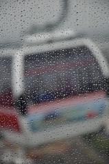 London Trip 16-7-2012 Emirates Air Line (Martin Pettitt) Tags: trip london rain drops crossing july cablecar riverthames dayout northgreenwich emiratesairline nikond90 afsdxvrzoomnikkor18105mmf3556ged thamescablecar 1672012 gondolierlift
