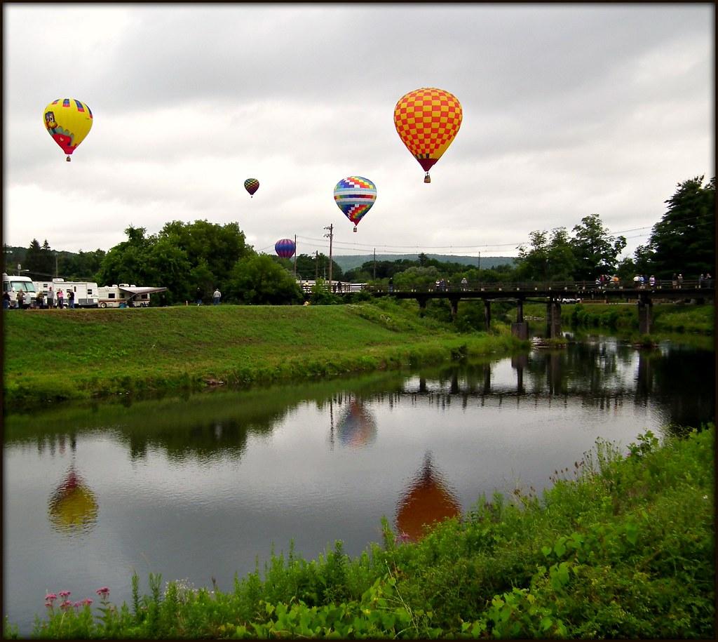 2012 Wellsville Hot Air Balloon Rally