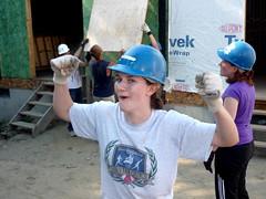 Habitat for Humanity Build - July 21, 2012 (nyealumniadvisor) Tags: nye service volunteer leadership outstanding hoby 100hours hughobrian l4s newyorkeast