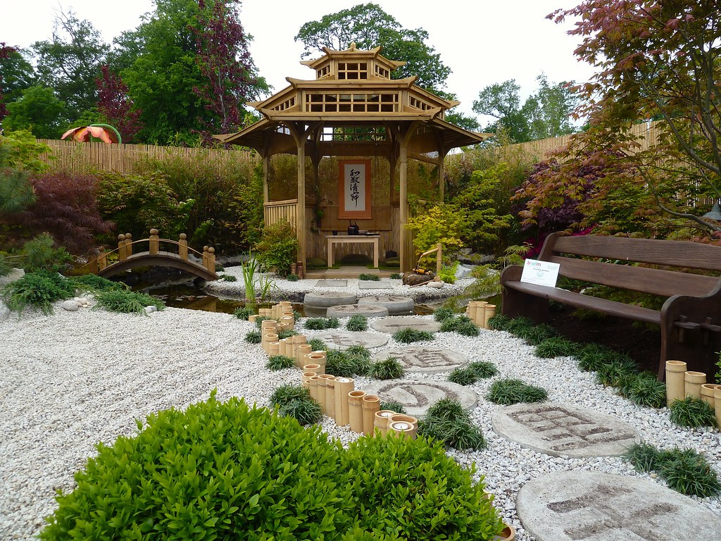 The World\'s Best Photos of gazebo and japanesegarden - Flickr Hive Mind