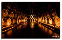 Courvoisier Cognac barrels............[Explored] (pete stone) Tags: france barrels cognac cellar charente courvoisier canoneos5d jarmac