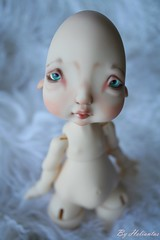 faceup commission for Christin in Chicago (heliantas) Tags: doll bjd kane humpty dumpty commission popo faceup dollmore nefer