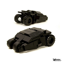 Tiny Tumbler (60% _Tiler's) (ZetoVince) Tags: car dark greek lego vince tiny batman vehicle knight batmobile tumbler turbos zeto zetovince