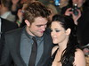 Robert Pattinson, Kristen Stewart. The Twilight Saga: Breaking Dawn Part 1 UK film premiere held at the Westfield Stratford - Arrivals.. London, England