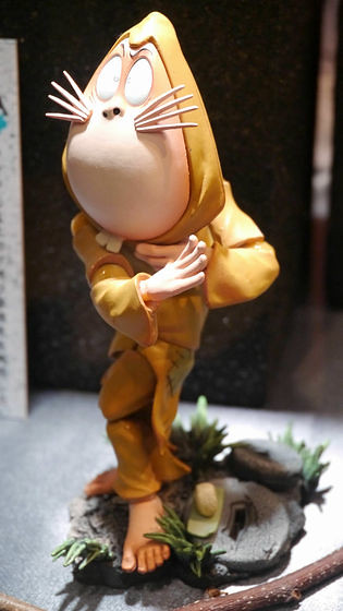 WF2012夏 海洋堂輪轉可動 鬼太郎妖怪繪卷 實體照片