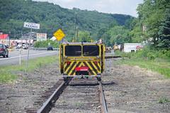 IMGP6334 (geepstir) Tags: car reading pennsylvania rail pa shamokin speeder sunbury narcoa