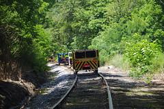 IMGP6379 (geepstir) Tags: car reading pennsylvania rail pa shamokin speeder sunbury narcoa