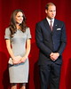 Catherine, Duchess of Cambridge aka Kate Middleton and Prince William, Duke of Cambridge during a presentation at the Canadian War Museum, part of their Royal Tour 2011 Ottawa, Canada