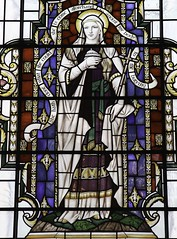 St Mary Magdalene (Lawrence OP) Tags: webb london stlawrencejewry stainedglass mary magdalene saints