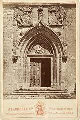 "Jean Laurent, ""La portada de la Cartuja de Burgos"" (copia positiva, 1878-1881) (Museo del Romanticismo) Tags: jean museo historia laurent xix fotografa siglo romanticismo"