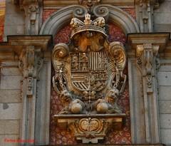 Escudo de la Casa de la Panadera. Plaza Mayor. Madrid (Carlos Vias-Valle) Tags: escudo casadelapanaderia plazamayor