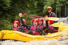 Yay (Chris Willis 10) Tags: white water kayak raft rafting river bala wales sport action