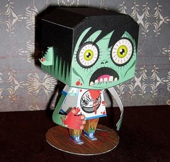 Halloween - Zombie Free Paper Toy Download (PapercraftSquare) Tags: halloween zombie