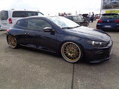 VW Scirocco R (911gt2rs) Tags: treffen meeting show tuning tief low stance typ 13 bbs coupe