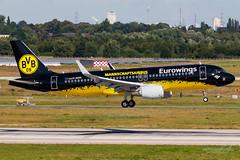 Eurowings (BVB Mannschaftsairbus) - Airbus A320-200 - D-AIZR (domi26495) Tags: eurowings bvb mannschaftsairbus airbus a320200 daizr a320 borussia dortmund dsseldorf flughafen eddl dus