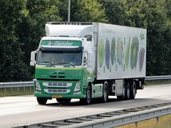 Volvo FM from Hollander Holland (capelleaandenijssel) Tags: 69 bdj 7 barendrecht greenery truck trailer lorry camion lkw