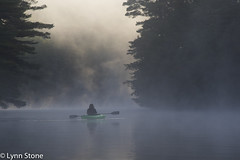 Kayaking at dawn; New Hampshire (lmstonenhp1) Tags: inspirations lakelife lakeview newengland newhampshire