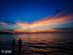 DSC_1135 (inkid) Tags: batuferingghi pulaupinang malaysia travel visit sony xperia dual z5 premium street photograph dusk sunset beach silhouette