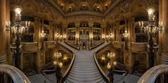 Opera Paris (Ral Podadera Sanz) Tags: panoramic panorama interior arquitectura paris francia opera travel viaje