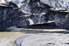 Glacial melting (Hubert Streng) Tags: slheimajkull mrdalsjkull iceland glacier melting summer ice
