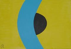 sleeping generation  by Jan Theuninck, 2016 (Gray Moon Gallery) Tags: jantheuninck sleepinggeneration yellow blue спальныйпоколение black 2016 apathy dangerousapathy thebanalityofevil generación de sonámbulos generacióndesonámbulos generationvonschlafwandlern bigbrother manipulation