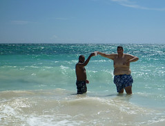 Fun times and rum punch at the local beach in Pedernales (little_duckie) Tags: bahiadelasaguilas pedernales dominicanrepublic republicadominicana caribbean beach laplaya