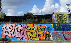 graffiti amsterdam (wojofoto) Tags: ndsm graffiti amsterdam wojofoto wolfgangjosten nederland holland netherland streetart punch