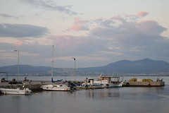Autumn is coming.. (fil_____) Tags: autumn seafront sea blue boat summer2016 neoiepivates peraia thessaloniki greece outdoor seascape sky nikond3300 nikon ngc          macedoniagreece macedonian makedonia timeless