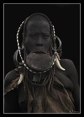 Mujer Mursi (antoniocamero21) Tags: retrato mursi mujer etnia etiopia color foto sony