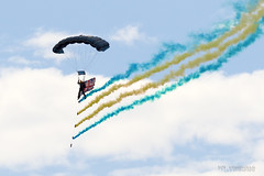 Southport Air Show 2016 (roystontc) Tags: southport airshow2016 sefton thetigers freefall parachute