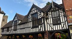 MUCH WENLOCK (chris .p) Tags: guildhall much wenlock nikon d610 summer 2016 town building view history uk england shropshire church august muchwenlock