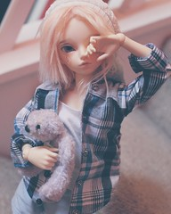 Wake up Sleepy head (pokori) Tags: minifee mnf rheia bjd boy blake active line body fairyland msd
