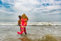 Head (Padmanabhan Rangarajan) Tags: ganeshchathurthi immersion chennai foreshore estate festival visarjan