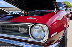 1968 Chevy Camaro (photo_maan) Tags: lyons ks usa vintage camaro rebuilt antique event 1968chevycamaro automotive carshow customcars kansas refurbished chevy classic cars 1968